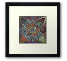 Earth Tile 1 Framed Print