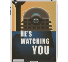 He is Watching You! iPad Case/Skin