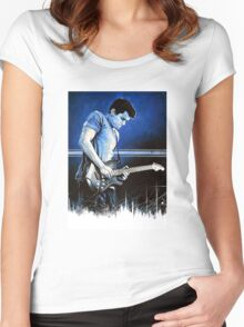 John Mayer Blues Women's Fitted Scoop T-Shirt