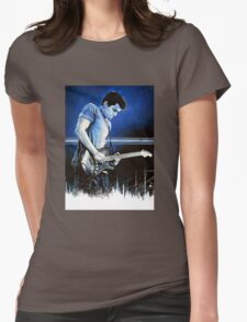 John Mayer Blues Womens Fitted T-Shirt