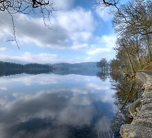 Reflections at the roadside by Empato Photography