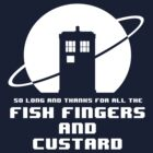 Fish Fingers and Custard White by ToneCartoons