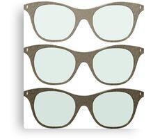 Cheap Sunglasses Canvas Print
