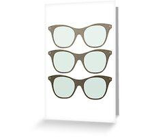 Cheap Sunglasses Greeting Card