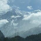 Mt. BLANC - French side. by Marilyn Grimble