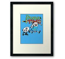 Panda Time  Framed Print