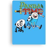 Panda Time  Canvas Print