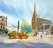 Market Place, Bury by LordOtter