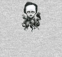 Edgar Allen Poe-a-Puss Mens V-Neck T-Shirt