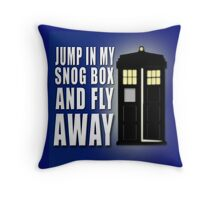 Snog Box Throw Pillow
