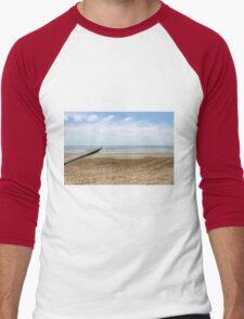 sea and beach Men's Baseball ¾ T-Shirt