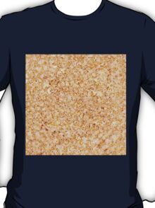 Peach Stone in Golden Lace T-Shirt