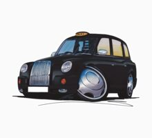 London Taxi TX4 Black by Richard Yeomans
