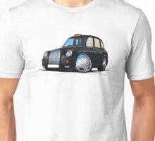 London Taxi TX4 Black Unisex T-Shirt