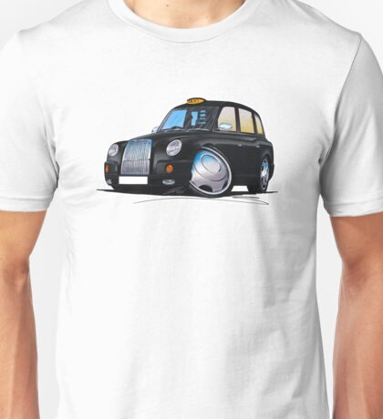 London Taxi TX4 Black Unisex T-Shirt