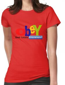 Obay  Womens Fitted T-Shirt