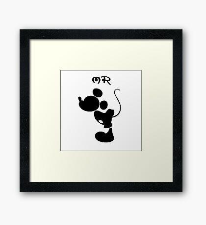 Mr Mickey Framed Print