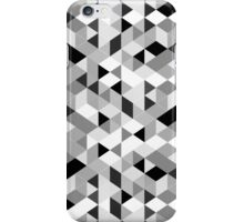 Grayscale Geometry iPhone Case/Skin