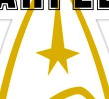 Starfleet Athletic Dept Sticker