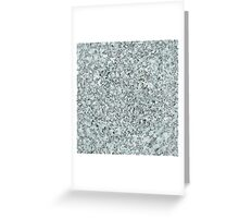 Winter Sky in Silver Lace Greeting Card
