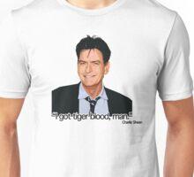 CHARLIE SHEEN-TIGERBLOOD Unisex T-Shirt