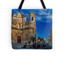 Gharb Parish Church Gozo Tote Bag