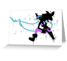 Jinx Ink Black Greeting Card