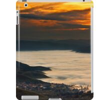 Sunset over a lake of clouds - Prespes iPad Case/Skin