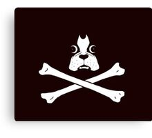 Dog Pirate Canvas Print