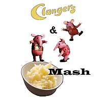 Clangers and Mash Photographic Print