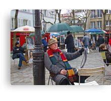 Montmartre Artists Canvas Print