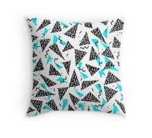 Missy - 80s Retro, Throwback Memphis Inspired Design Coussin