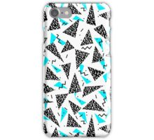 Missy - 80s Retro, Throwback Memphis Inspired Design iPhone Case/Skin