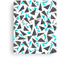 Missy - 80s Retro, Throwback Memphis Inspired Design Canvas Print