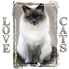 Love Cats by Nicky Stewart
