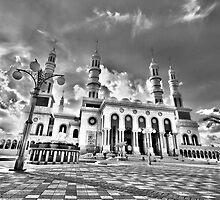 Islamic Center Samarinda - Great Mosque by bartmaskphoto