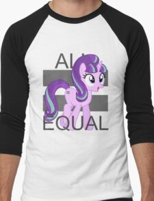 All Equal - Starlight Glimmer Men's Baseball ¾ T-Shirt