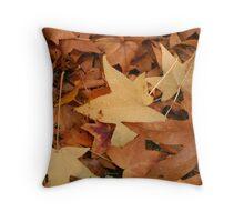 Fall has Fallen Throw Pillow