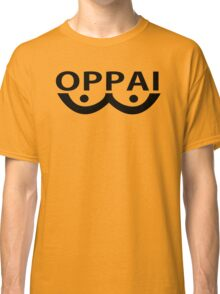 Oppai logo from Onepunch Man Classic T-Shirt