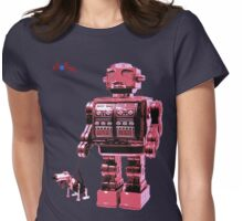 Super Giant Bot with Dogbot Womens Fitted T-Shirt