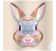 Rabbit Hare Animals Gift Poster