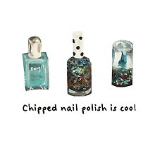 Chipped Nail Polish is Cool by FHIllustration