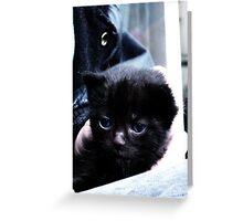 Blue Eyed Greeting Card