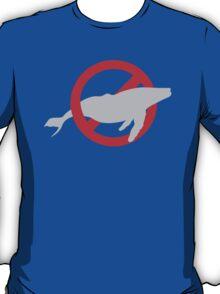 NO WHALES  T-Shirt