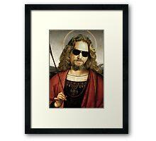 Saint Dude Framed Print
