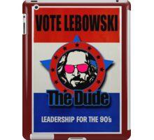 Vote Lebowski iPad Case/Skin