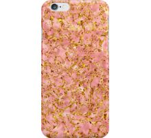 Rose Stone in Golden Lace iPhone Case/Skin