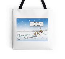 An Ood in Winter Tote Bag