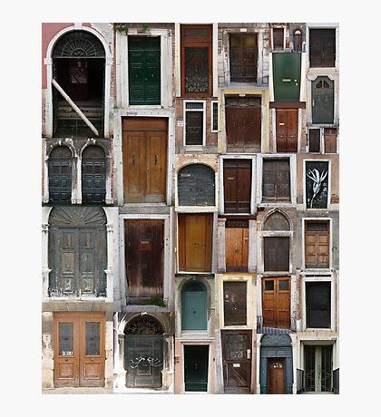 Doors Dull Photographic Print