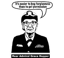 Grace Hopper Photographic Print